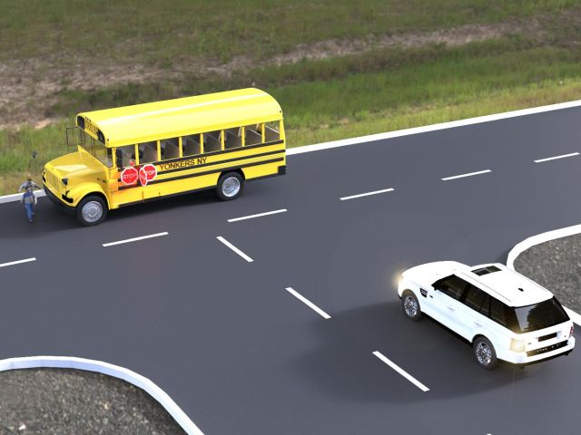 School Bus Passing Mishap Sparks Idea for Side-View Stop Arm