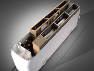 Upon boarding a Snoozeliner, passengers will be able to enter their destination, allowing...