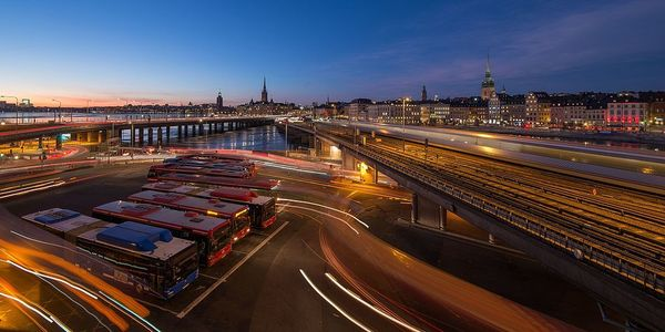 A view from Slussen, an area in central Stockholm. Photo: Wikimedia Commons/Arild Vågen