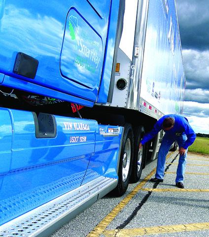Environmentally friendly truck tires