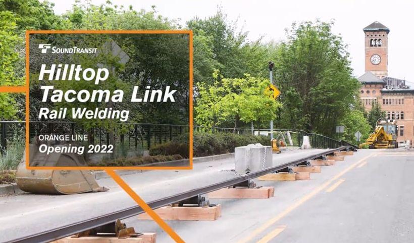 [Video] Sound Transit's Hilltop Link Rail Welding