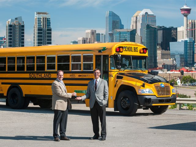 Southland Transportation buys 101 Blue Bird propane buses
