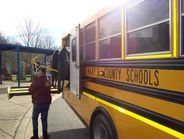 One of St. Mary's County (Md.) Public Schools drivers was spotted conducting her pre-trip...