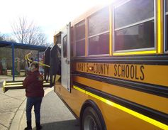 One of St. Mary's County (Md.) Public Schools drivers wasspotted conducting her pre-trip...