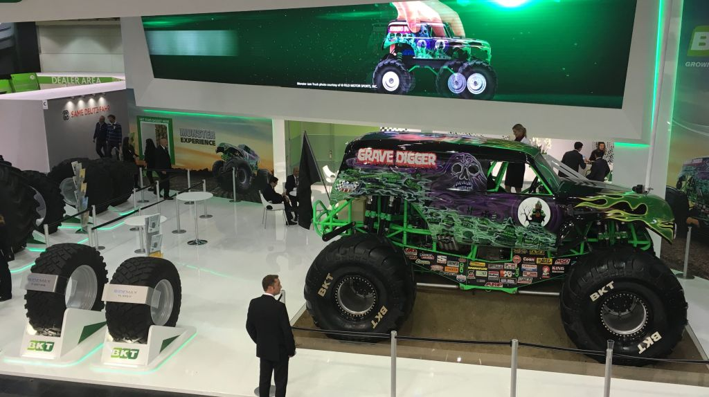 BKT Is Showing Its Latest Ag Tires at Agritechnica