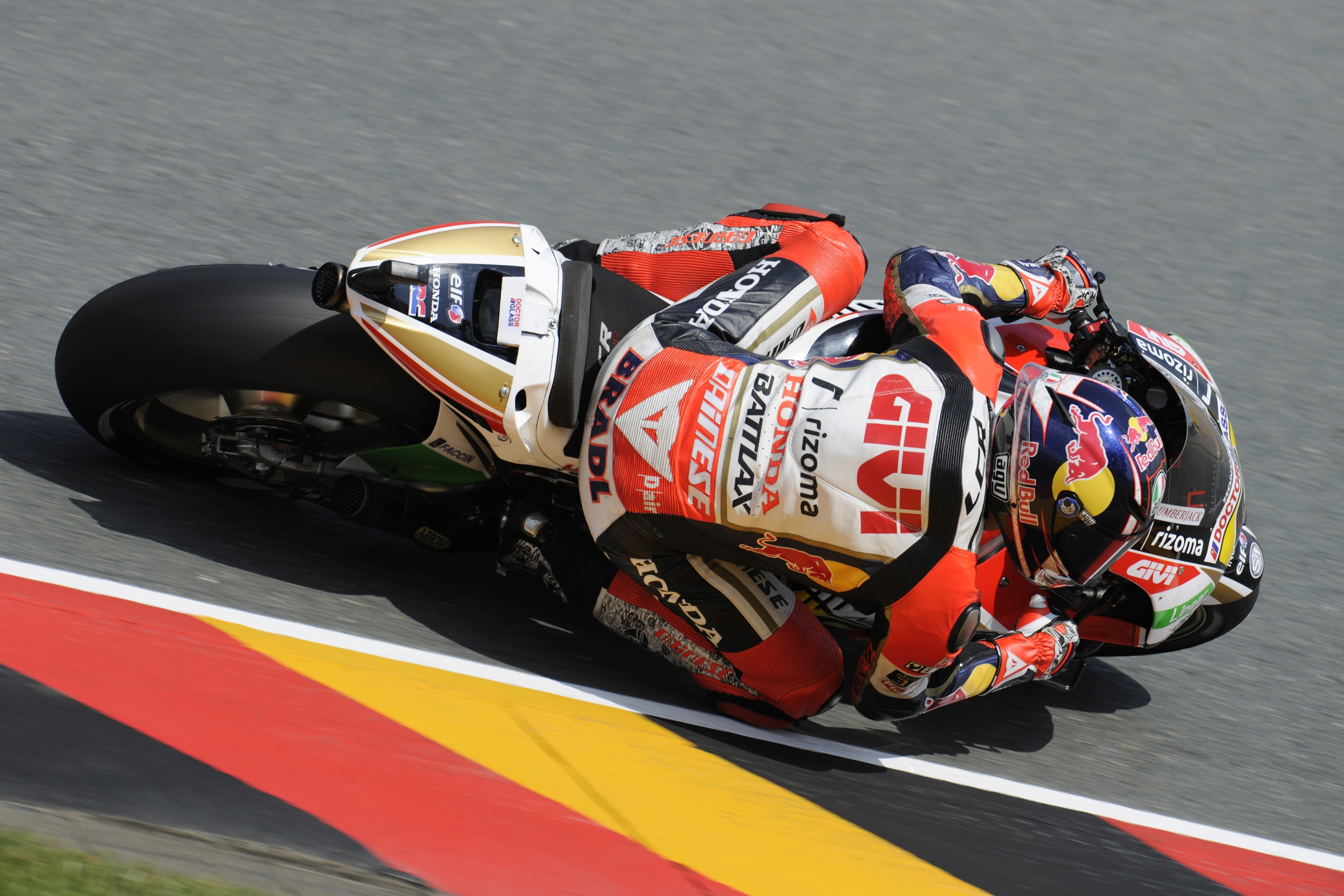 Bradl leads Friday practice at Sachsenring