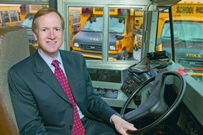 Barry Stock has been a fixture in the pupil transportation community since he launched Stock School Transport in 1988. The current executive vice president of business development for National Express Corp. will retire at the end of July.
