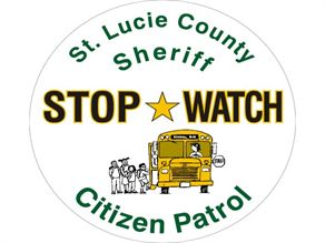 The Stop Watch program is set to launch this fall in St. Lucie County. Trained volunteers will monitor school bus stops in the area for suspicious activity. They will be given special cell phones that can contact 911 in the event of an incident.