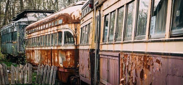 Streetcar Graveyard - Milton, Ontario - Stuart - 2014 - Flickr