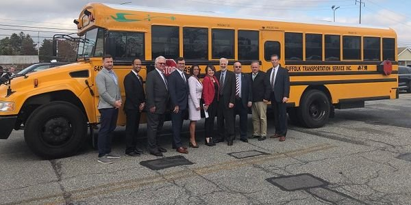 Suffolk Transportation Service and Bay Shore Union Free School District recently rolled out four...