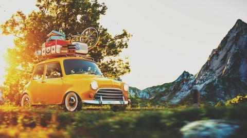 In the past, European drivers wouldn't go on summer vacation on all-season tires.