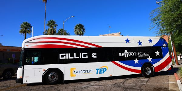 SunTran will receive $3.8 million to purchase all-electric buses and charging equipment. SunTran