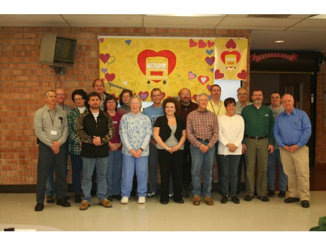 In Swain County (N.C.), school bus drivers and other transportation staff took part in a Love...