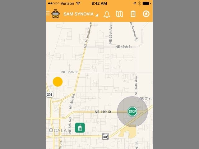 Indiana district pilots school bus tracking app