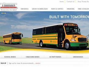 In addition to more information on products and the company's green technology, Thomas Built Buses' new Website integrates the BUS REPORT newsletter, which will be hosted in a digital format.