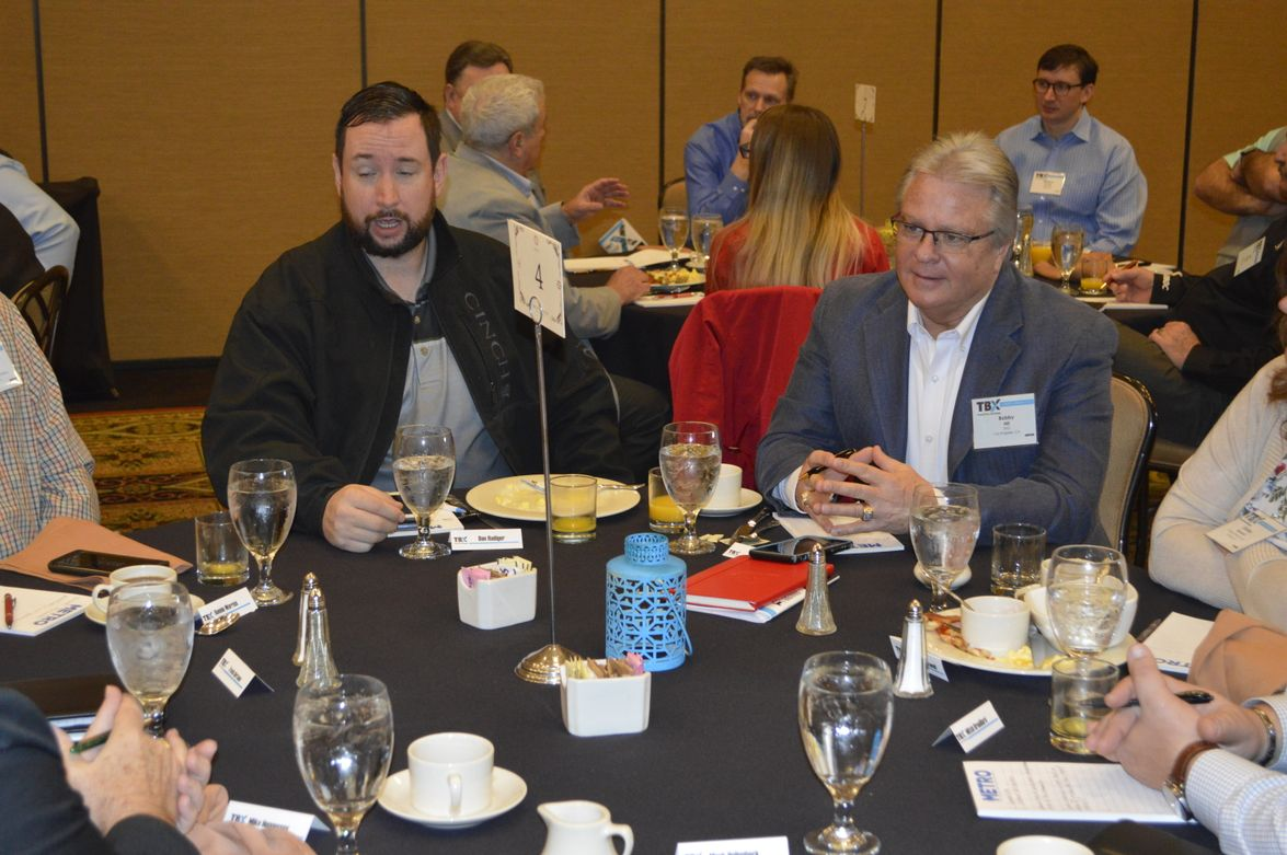 A lively breakfast roundtable discussed the future of mobility and challenges both transits and...