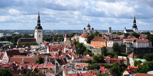 View from St.Olav's Church in Tallinn, Estonia. (Kadi-Liis Koppel/Tallinn City Tourist Office &...