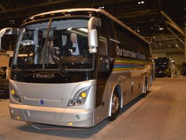 CH Bus Sales showcased Temsa's 30-, 35-, and 45-foot models.