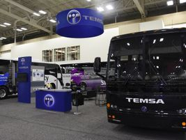CH Bus Sales showcased three Temsas on the showfloor - the TS 30, TS 35 and TS 45. KRR Photography