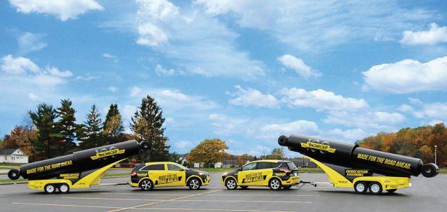 Tenneco Doubles 'Shockmobile' Fleet