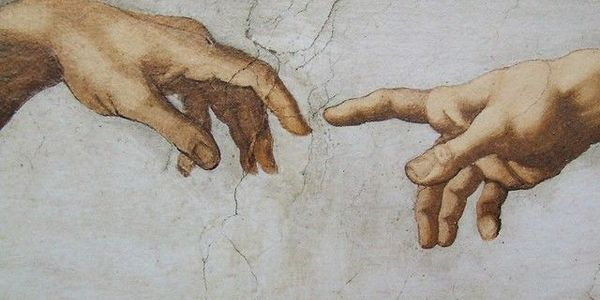 According to research, Michelangelo, painter of The Creation of Adam fresco in the Sistine...