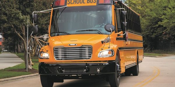 Thomas Built Buses has temporarily suspended its production operations after one of its...