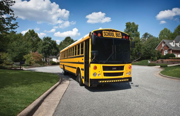 Thomas Built Parent DTNA to Recall Over 50K School Buses Due to Seating Issue