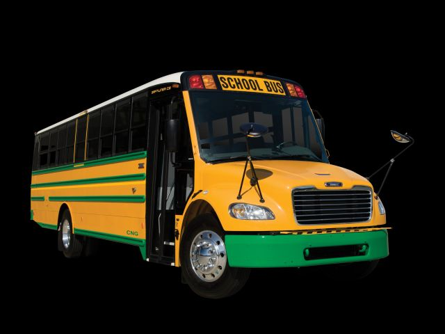 Thomas Built to offer CNG Type C school bus