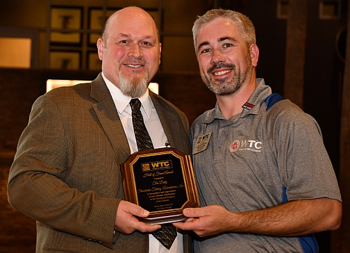 Dietz Presented With WTC Lifetime Achievement Award