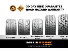 Tireco Adds Ride Guarantee, Road Hazard Protection to Milestar