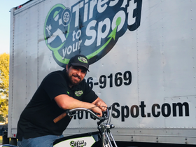 One-Man Tire Installation Service Builds Customer Base with Fast, 'On-the-Spot' Service