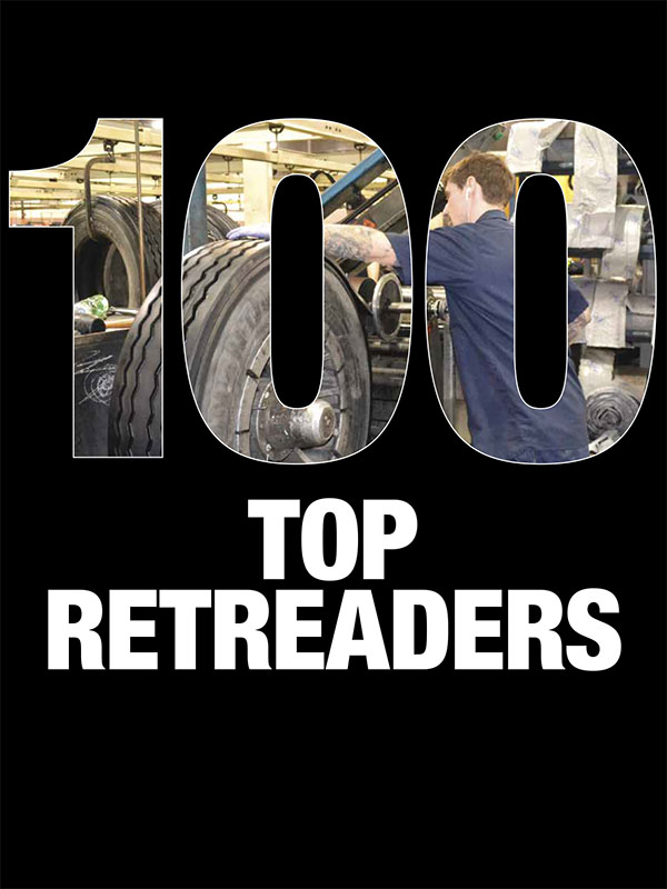 2017 MTD Top 100 Retreaders in the U.S.