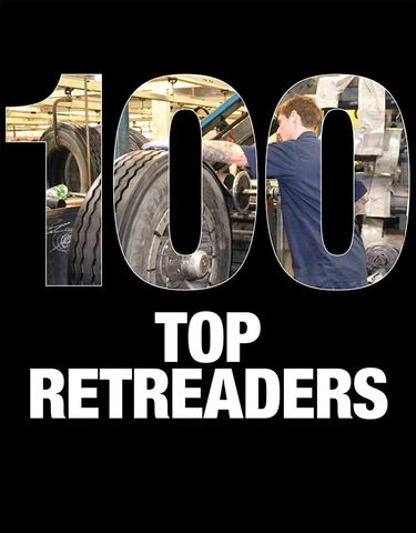 2019 MTD Top 100 Retreaders in the U.S.