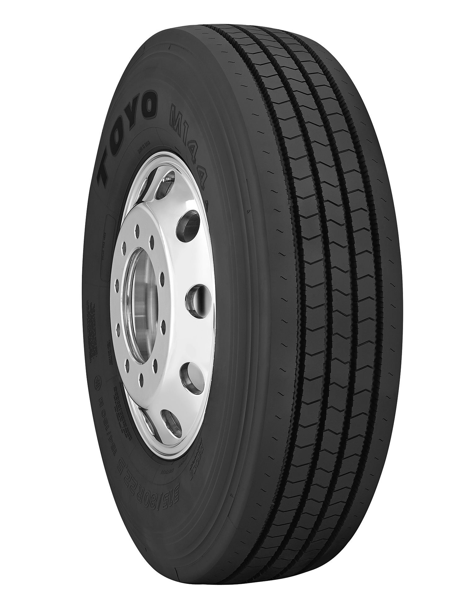 Toyo has a new medium truck tire, iPad App