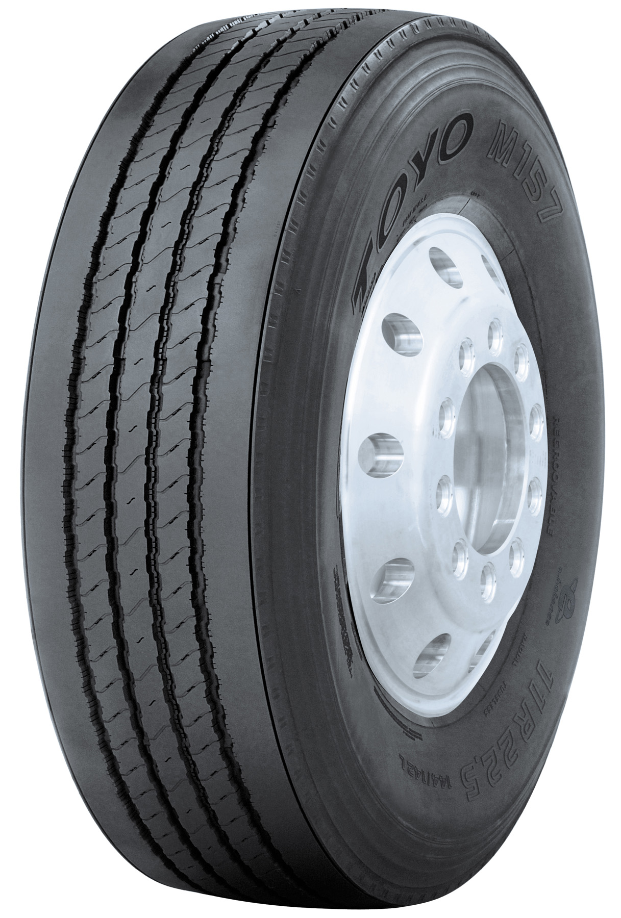 Toyo M157 truck tire fights wear, saves fuel