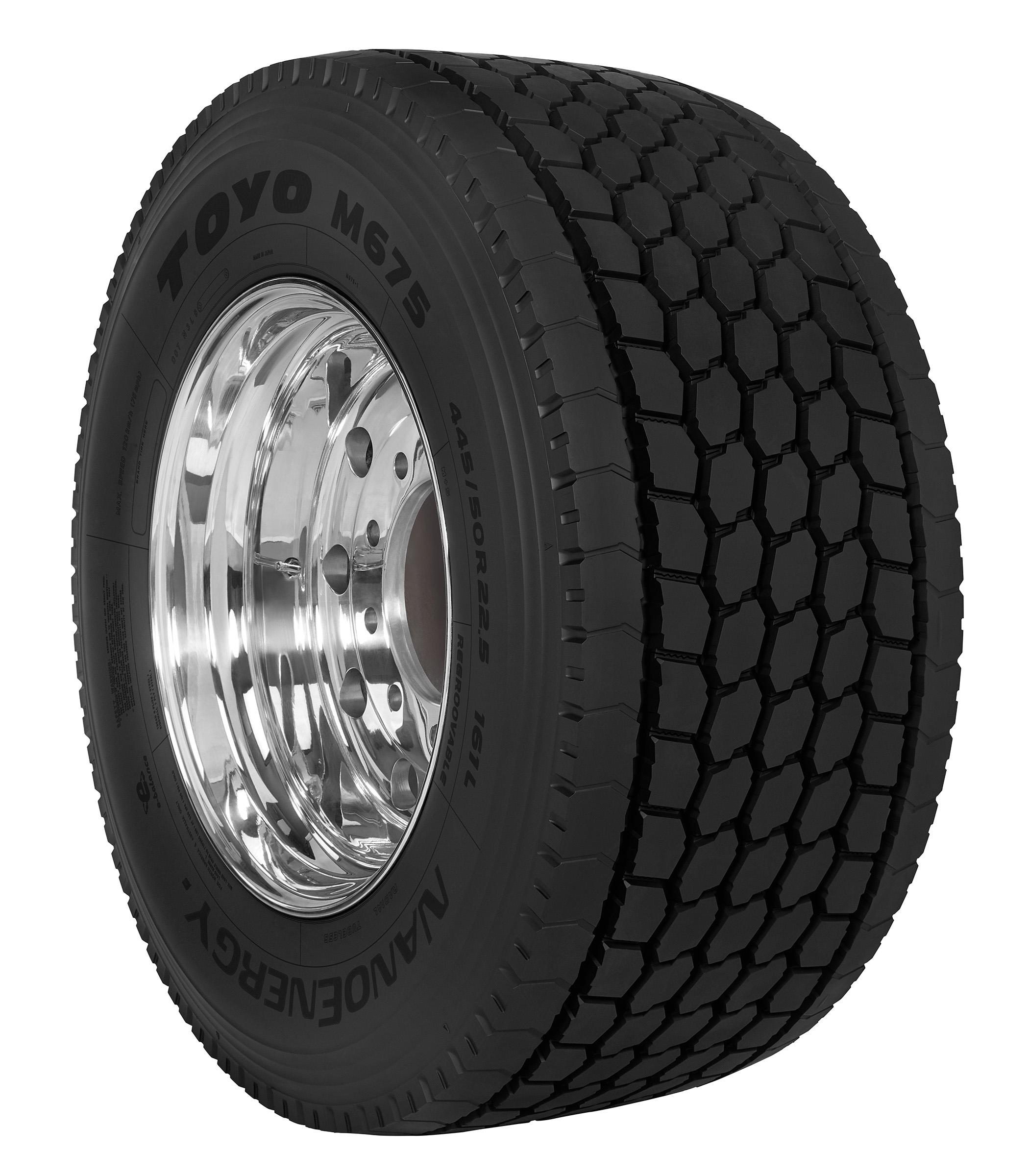 Toyo Unveils M675 Long Haul Drive Tire