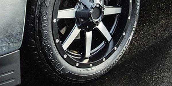 The Firestone Destination LE3 comes with a 70,000-mile warranty.