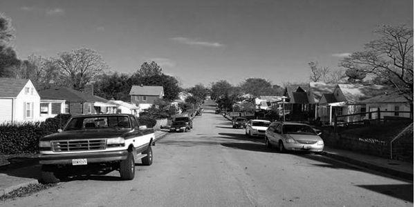 """A """"transit desert"""" neighborhood. Image: Diane Jones Allen"""