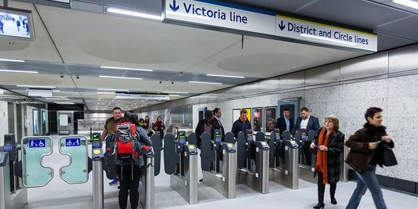 Transport for London's North Ticket Hall at Victoria Station. Transport for London