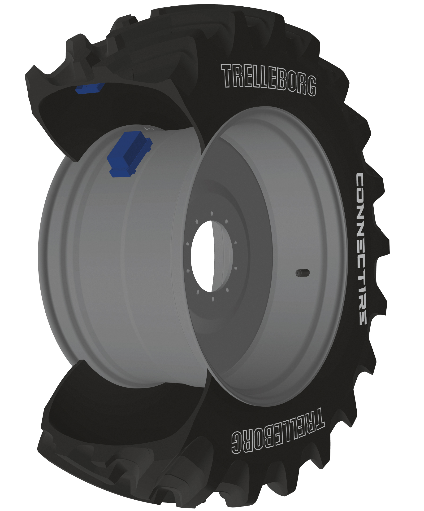 Trelleborg's ConnecTire Is a Smart Wheel for Farm Equipment