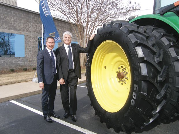 Trelleborg's New Factory 'Opens the Door' to North America's Ag Market