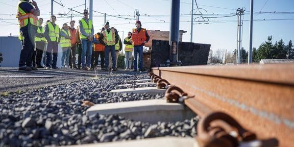 TriMetEngineering and rail training supervisors provided students from a local community...