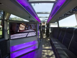 ABC's NextGen motorcoach gave a glimpse into the future of motorcoach amenities.