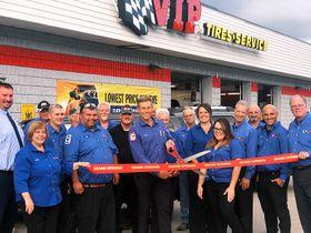 VIP Tires & Service Renovates Brunswick Store