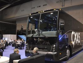 ABC had several offerings, including the Van Hool CX45.
