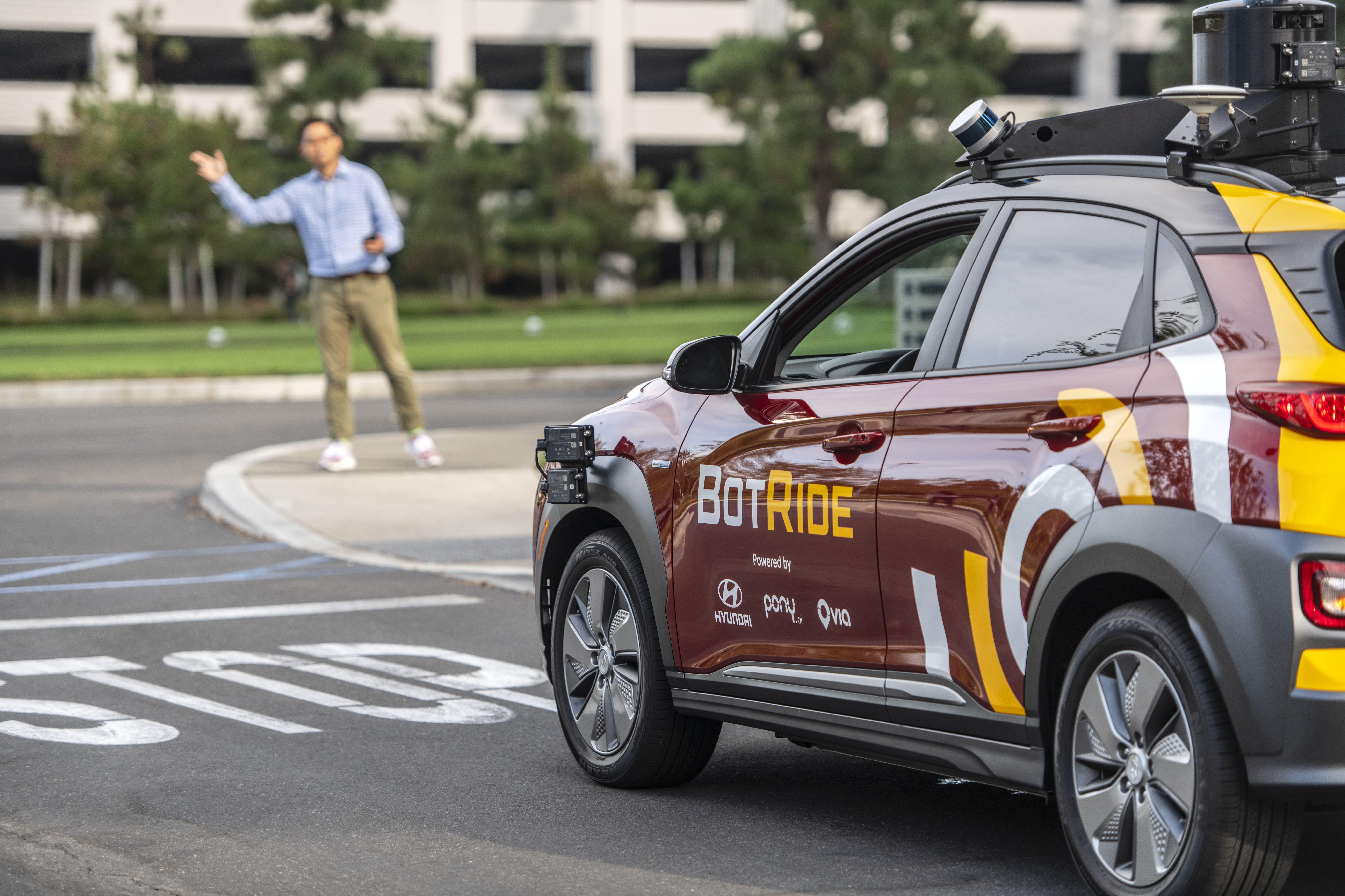 Hyundai AVs hit the streets in California