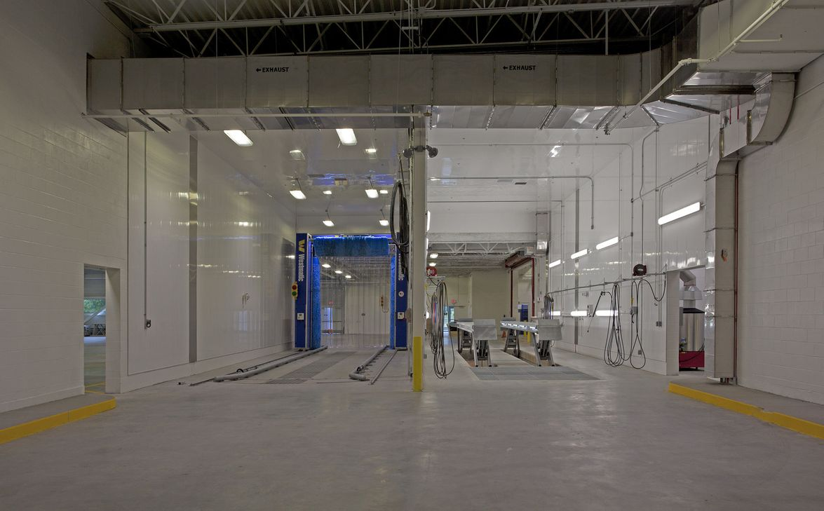 [Photos] Worcester, Mass. STV-designed sustainable bus facility