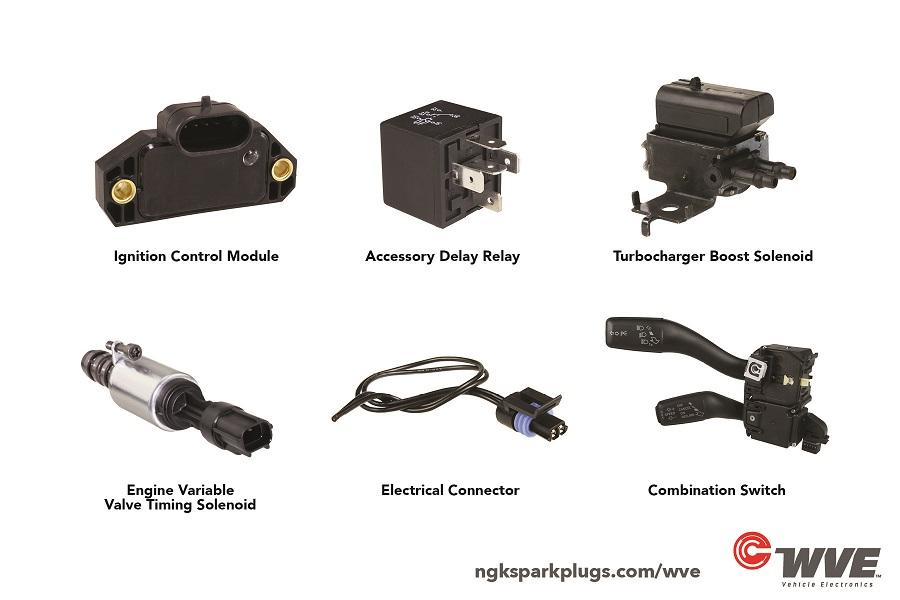 WVE Vehicle Electronics Portfolio Has 215 Product Types