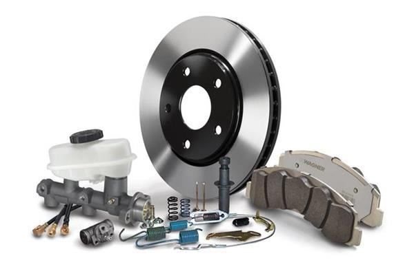 Wagner Brake, Rotor and Hydraulic Lines are Expanded