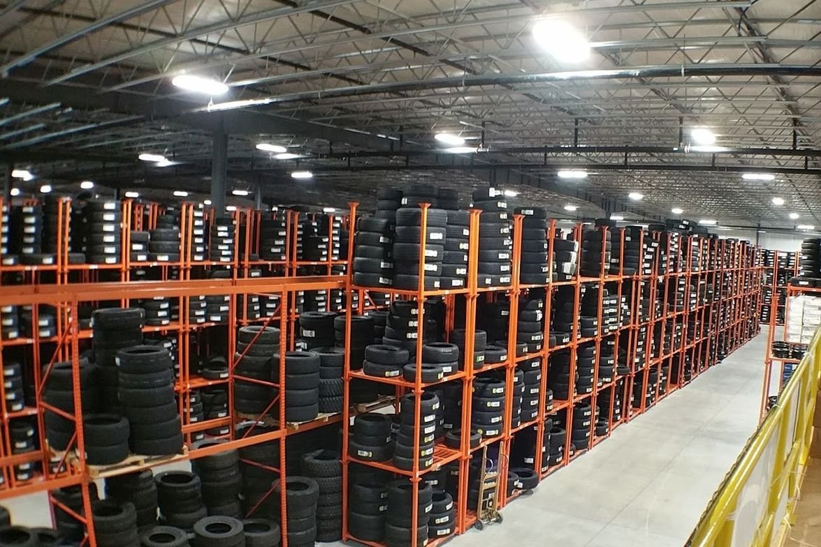 Dunn Tire's new Rochester warehouse serves eight Dunn Tire stores and hundreds of wholesale...